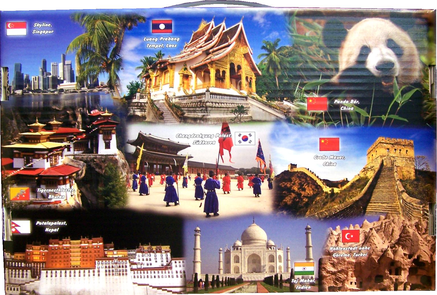 reise durch asien