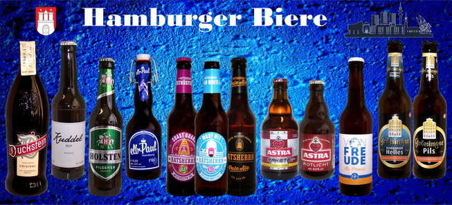Sortiment Hamburger Biere - 12 Flaschen